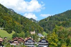 Interlaken-Landschaft Stockfoto