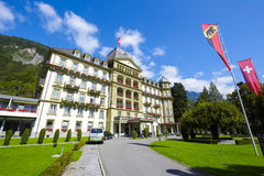 Interlaken, Lindner Grand Hotel Beau Rivage Royalty Free Stock Images