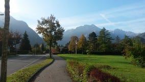 Interlaken - Schweiz Arkivbild