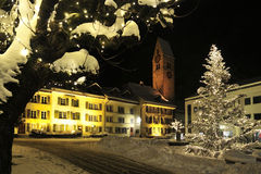 Christmas in Interlaken Stock Photo