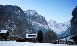 interlaken Szwajcarii zdjęcia stock