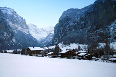 interlaken Szwajcarii obraz royalty free