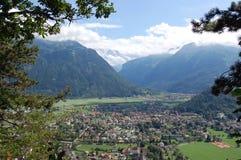 Interlaken, Zwitserland Stock Fotografie