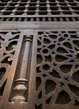 Interleaved wooden ornaments (Arabisk) unit Royalty Free Stock Photography