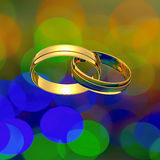 Interlocked rings Royalty Free Stock Photo
