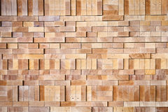 Interlocked Wood Stock Image