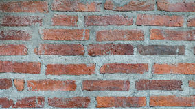 Interlocking brick. Of the building Stock Photos