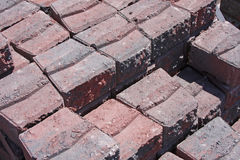 Interlocking bricks Royalty Free Stock Images