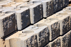 Interlocking bricks Stock Photography