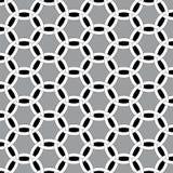 Interlocking circles. Illustration geometrical background with interlocking circles royalty free illustration