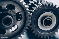 interlocking för kugghjul Fotografering för Bildbyråer