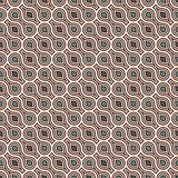 Interlocking figures tessellation background. Repeated geometric shapes. Ethnic mosaic ornament. Oriental wallpaper. Interlocking figures tessellation abstract Royalty Free Stock Photo