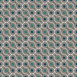 Interlocking figures tessellation background. Repeated geometric shapes. Ethnic mosaic ornament. Oriental wallpaper. Interlocking figures tessellation abstract Stock Photos