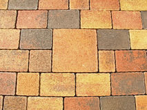 Interlocking Paving Stone Stock Image