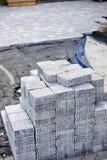 interlocking sten för körbana Royaltyfri Foto