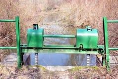 Interlocking water. View of the interlocking water woods Royalty Free Stock Image