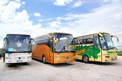 Interlokale bussen Royalty-vrije Stock Afbeelding