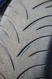 Intermediate wet race tyre. Stock Images