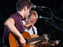 intermezzo συναυλίας στοκ εικόνα με δικαίωμα ελεύθερης χρήσης