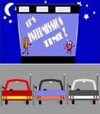 Intermission χρόνος διανυσματική απεικόνιση