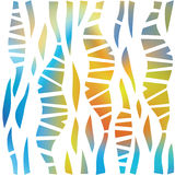 Intermittent decorative spots. Abstract decorative wallpaper. Seamless pattern. Stock Images