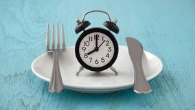 Intermittent Fasting And Meal Planning Concept Royalty Free Stock Photography