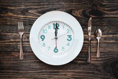 Free Intermittent Fasting Concept Royalty Free Stock Image - 139373686