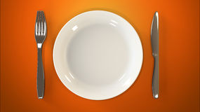 Intermittent fasting diet Stock Photo