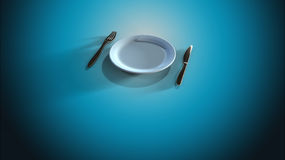 Intermittent fasting diet Royalty Free Stock Photo