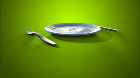 Intermittent fasting diet Stock Images