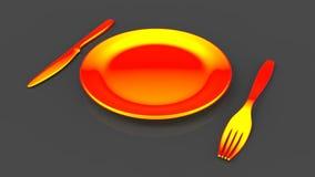Intermittent fasting diet Stock Photo