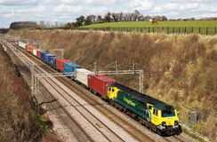 Intermodal freight train Royalty Free Stock Photography