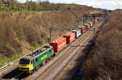Intermodal freight Stock Images