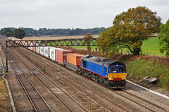 Intermodal rail freight Royalty Free Stock Images