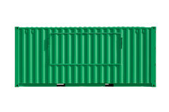 Intermodal  Shipping Container Stock Image