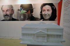 Intermuseum 不同的博物馆节日在莫斯科 库存图片