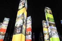 Intermuseum Festival de différents musées à Moscou Photos stock