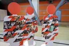 Intermuseum Festiwal różni muzea w Moskwa Obrazy Stock