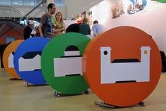 Intermuseum Festiwal różni muzea w Moskwa Zdjęcie Stock