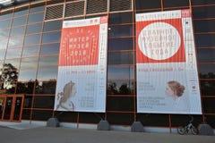 Intermuseum Festiwal różni muzea w Moskwa Zdjęcia Royalty Free
