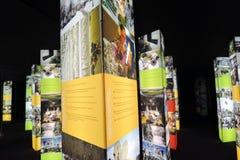 Intermuseum Festiwal różni muzea w Moskwa Obrazy Royalty Free