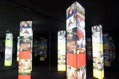 Intermuseum Festiwal różni muzea w Moskwa Fotografia Stock