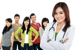 Intern medical doctor Stock Images