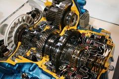 Intern van motor Stock Foto's
