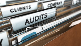 Internal Audit, Company Management Royalty Free Stock Image