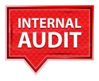 Internal Audit misty rose pink banner button royalty free illustration