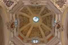 Internal church Royalty Free Stock Photo