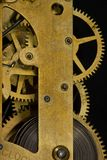 Internal clock mechanism Royalty Free Stock Photography