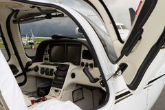 Internal of Cockpit - Aircraft Royalty Free Stock Photography