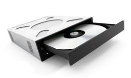 Internal disc drive. 3D illustration Stock Image